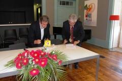 Assinatura Protocolo de nova morada para o Museu do Douro